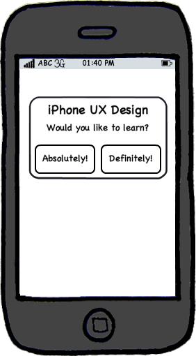 iPhone User Experience Design