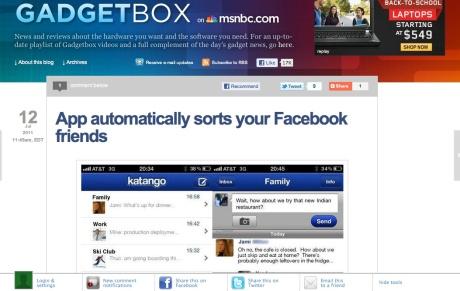 Katango MSNBC